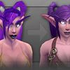 wow night elf visual upgrade