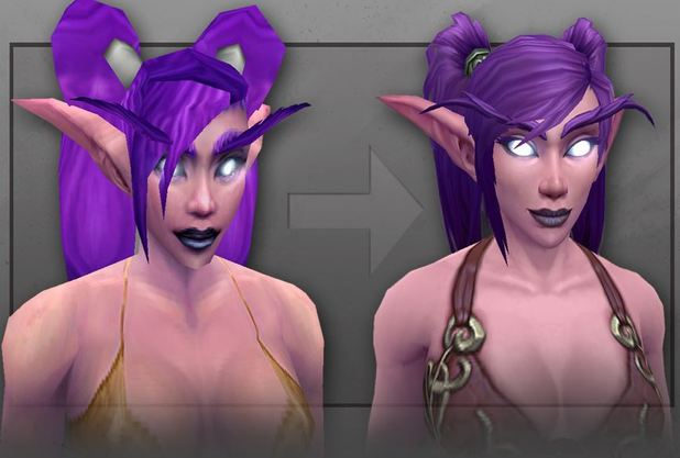 World of Warcraft Screenshot - wow night elf visual upgrade