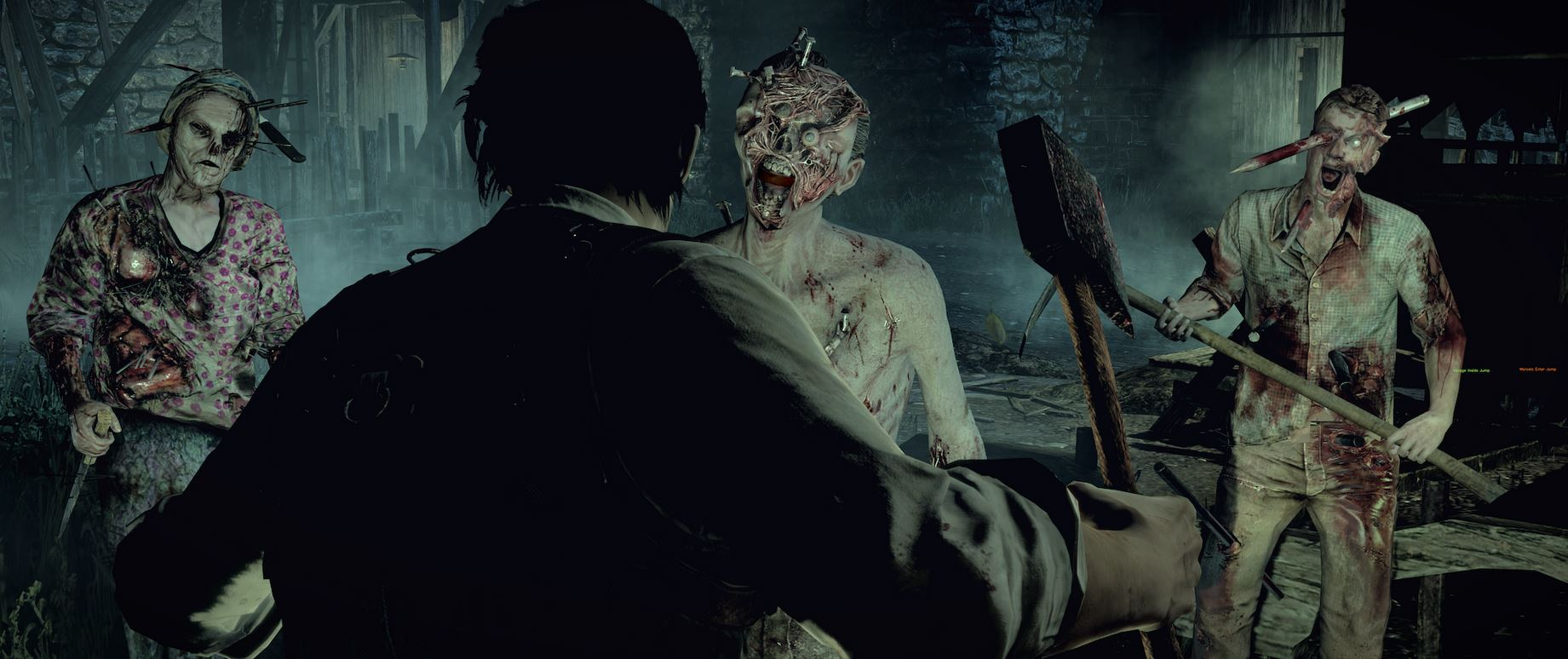 The Evil Within Hatchet