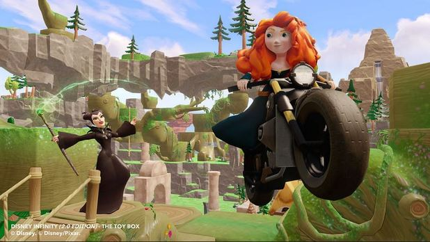 Disney Infinity: Marvel Super Heroes (2.0 Edition) Screenshot - disney infinity 2.0 merida maleficent