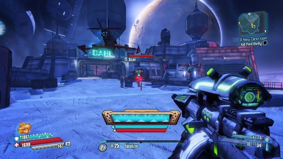 how to change guns in borderlands 2 ps4