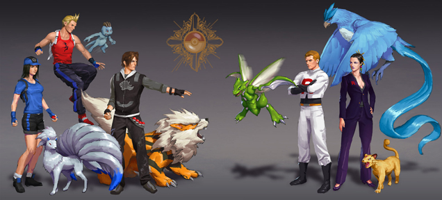 Pokemon x Final Fantasy 8