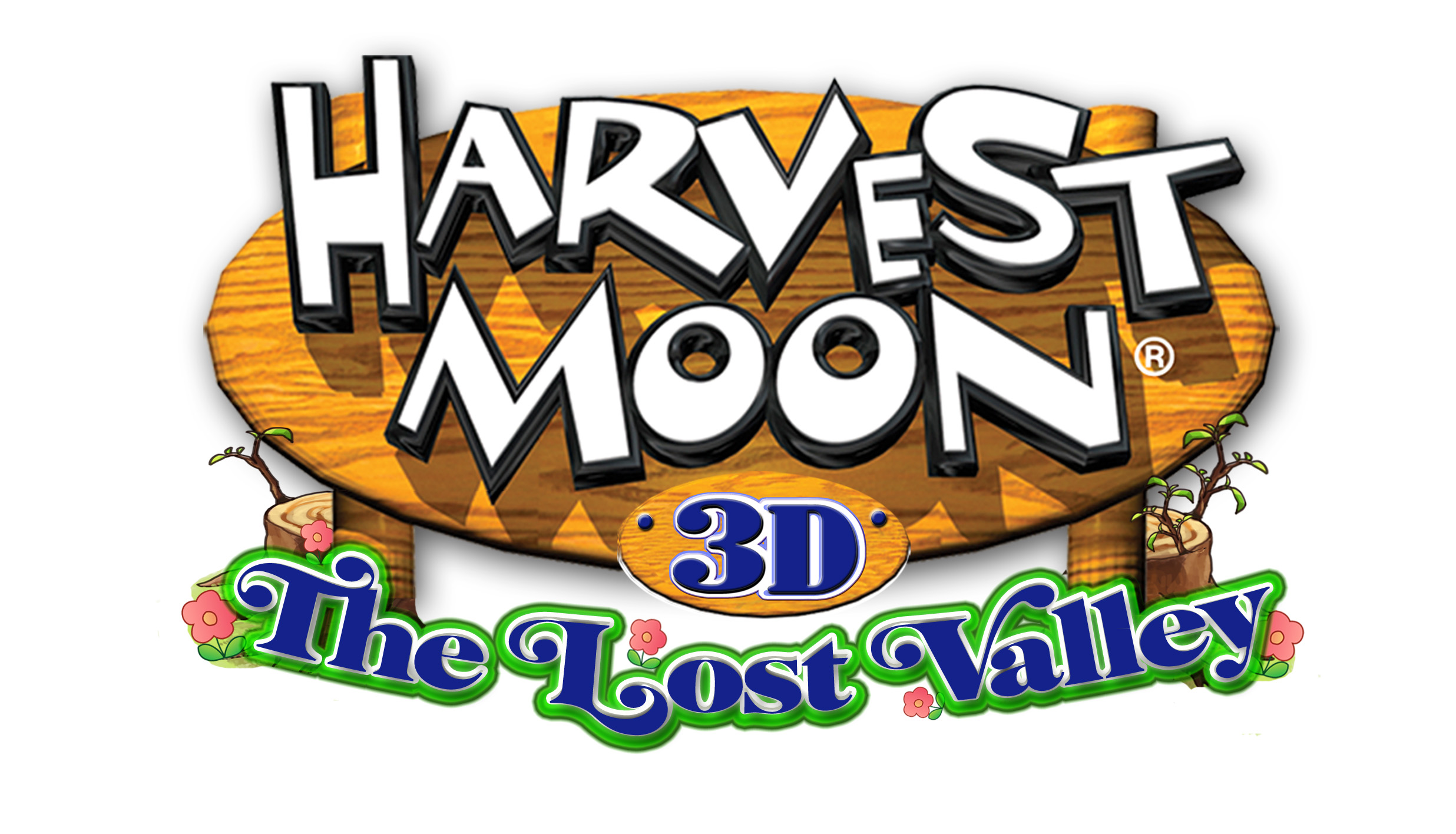 Lost end logo harvest moon the lost valley