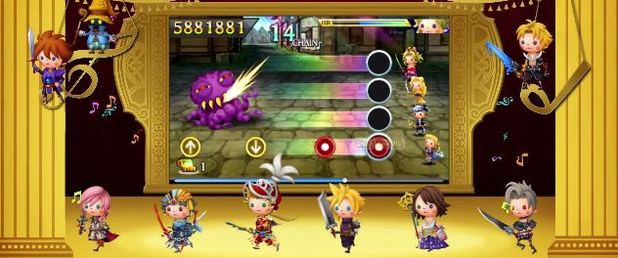 Theatrhythm Final Fantasy: Curtain Call - Feature