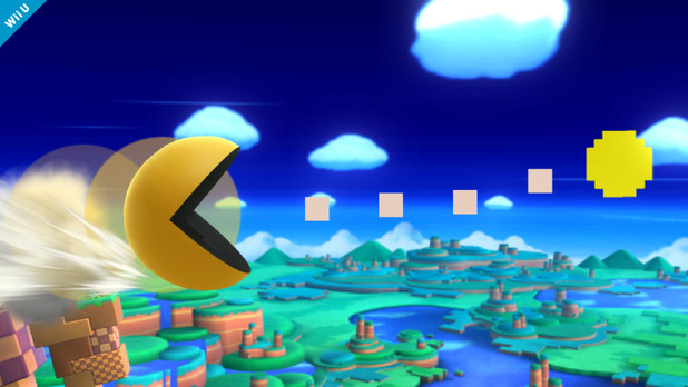 E3 2014: Pac-Man chomps his way into Super Smash Bros.