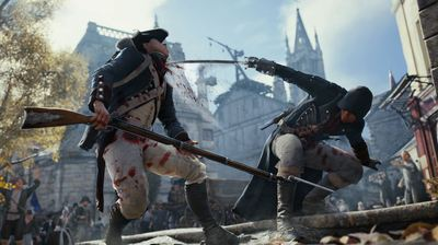 Assassin's Creed Unity Screenshot - Sword to the throat