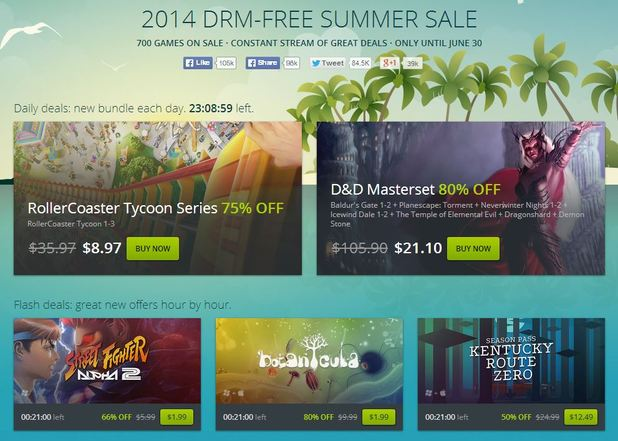 Culture Screenshot - GoG Summer Sale