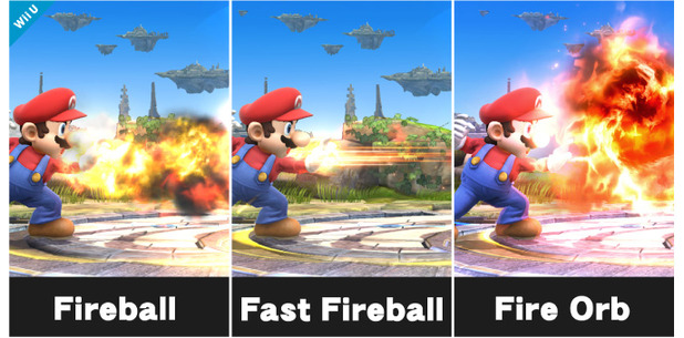 Super Smash Bros. for 3DS / Wii U Screenshot - Custom Mario