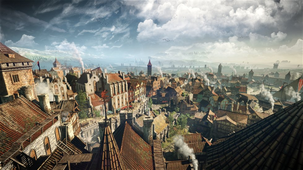 the witcher 3 city