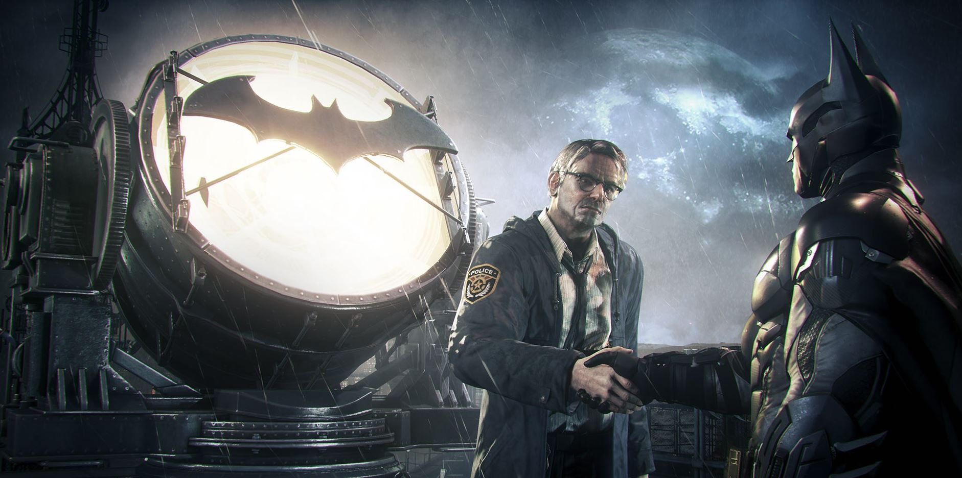 batman arkham knight jim gordon