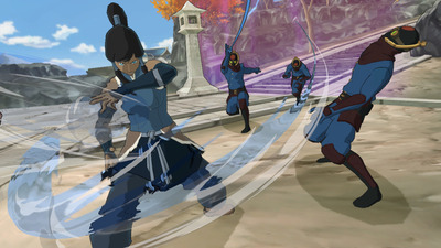 The Legend of Korra Screenshot - Water Bending