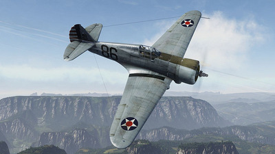 War Thunder Screenshot - P-36A Curtis Hawk