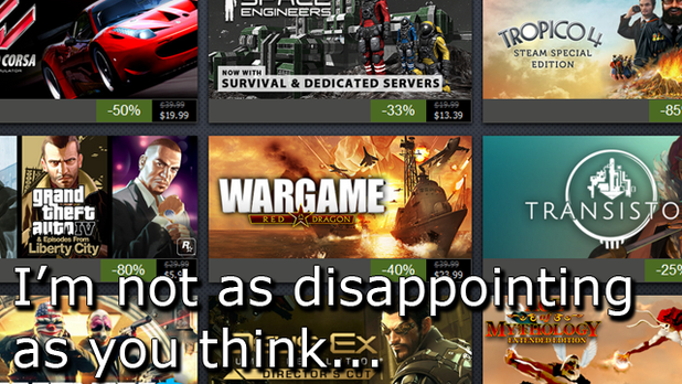 The positives of the 2014 Summer Steam Sale
