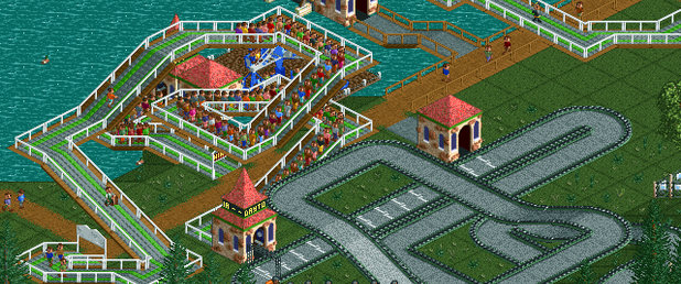 Roller Coaster Tycoon - Feature