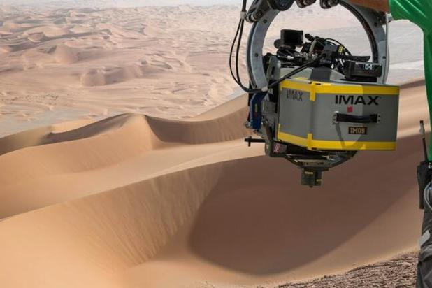 Star Wars Episode VII is being filmed in IMAX