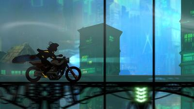 Transistor  Screenshot - This custom Transistor art is absolutely gorgeous
