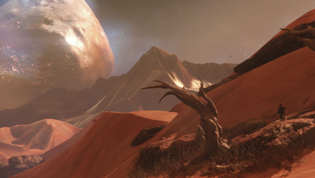 Destiny Screenshot - The line between persistent online and MMO is blurring