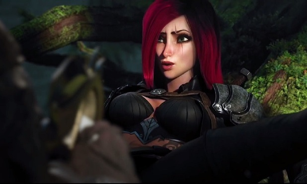 League of Legends Screenshot - league of legends cinematic katarina