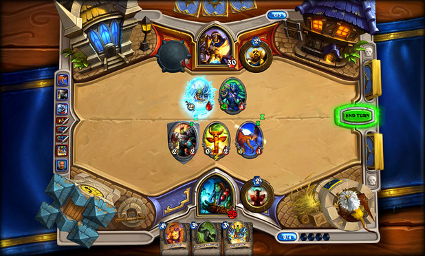 Hearthstone: Heroes of Warcraft Screenshot - Why Hearthstone's interface is superior to any Magic video game