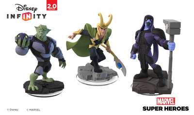 Disney Infinity: Marvel Super Heroes (2.0 Edition) Screenshot - Disney Infinity: Marvel Super Heroes (2.0 Edition) Ronan, Loki, Green Goblin