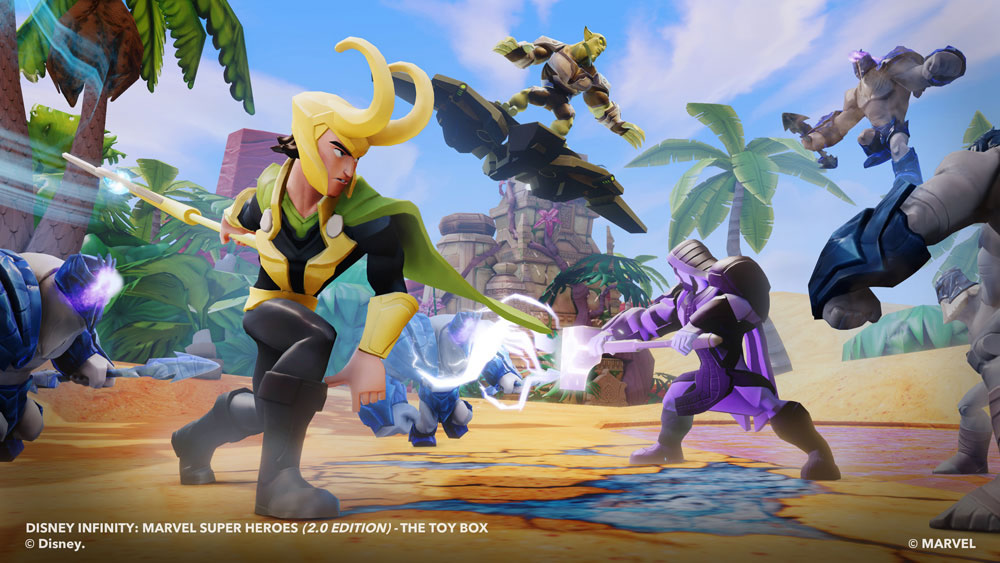 disney infinity: marvel super heroes (2.0 edition) loki, ronan, green goblin
