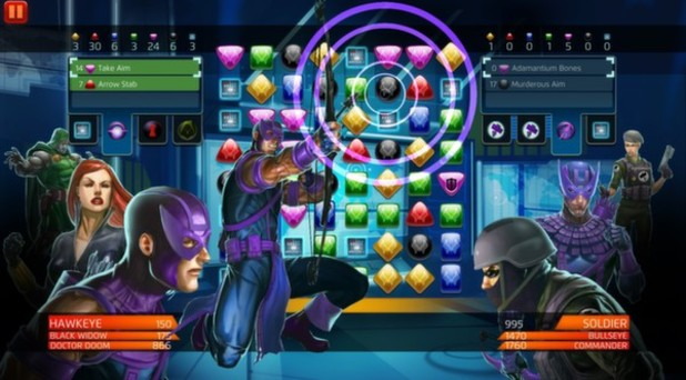 Marvel Puzzle Quest Screenshot - Matching