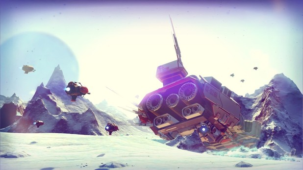 No Man's Sky Screenshot - No Man's Sky is a timed exclusive for the PlayStation 4