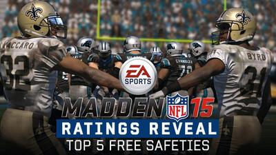 Madden NFL 15 Screenshot - Here are your top 5 safeties in Madden NFL 15