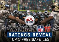 Here are your top 5 safeties in Madden NFL 15
