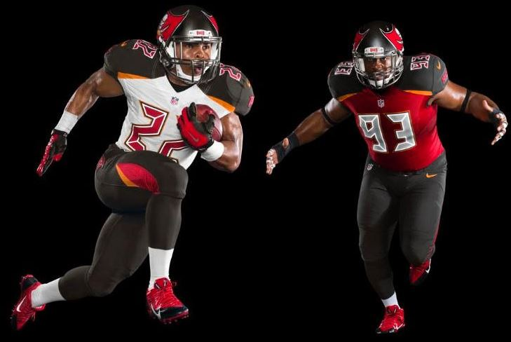 bucs new uniform