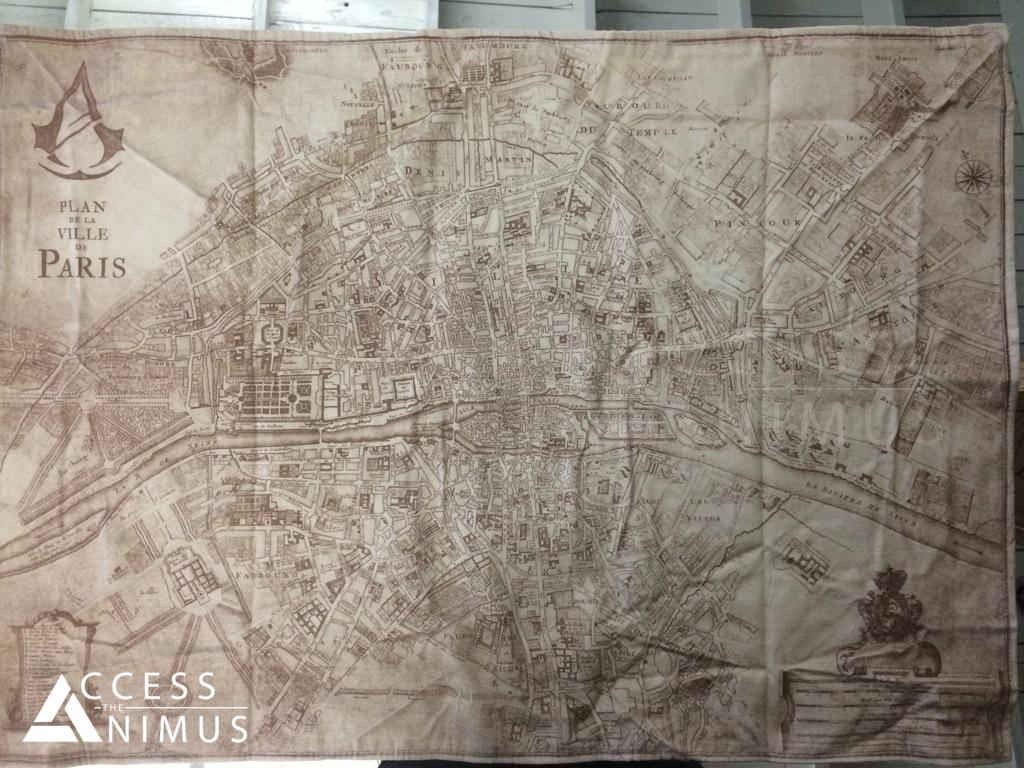 Assassin's Creed Unity Paris Map