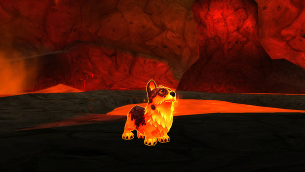 World of Warcraft Screenshot - Molten Corgi