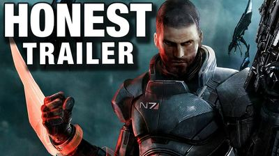 Gaming Culture Screenshot - mass effect honest trailer