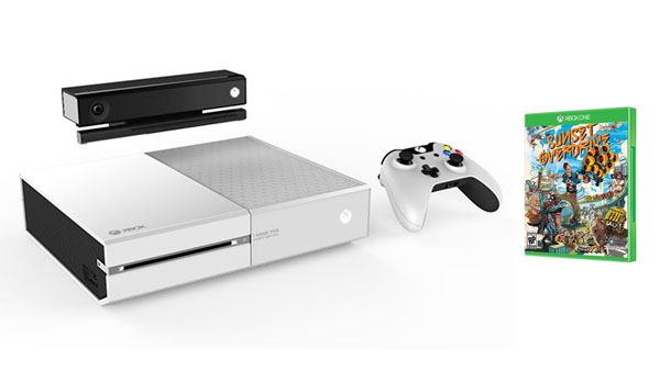 The white Xbox One and Sunset Overdrive bundle is real ...