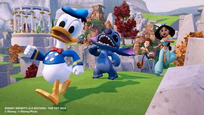 Disney Infinity: Marvel Super Heroes (2.0 Edition) Screenshot - disney infinity donald duck