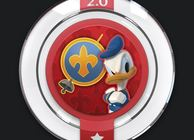 disney infinity donald duck all for one power disc