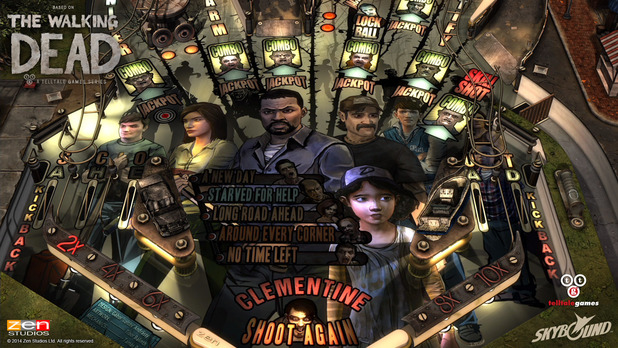 The Walking Dead Pinball Image