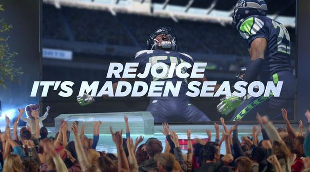 rejoice it's madden season