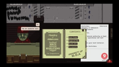 Papers, Please Screenshot - The Backlog: Papers, Please