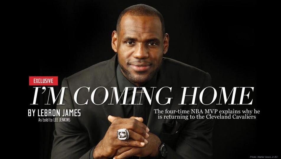lebron james i'm coming home