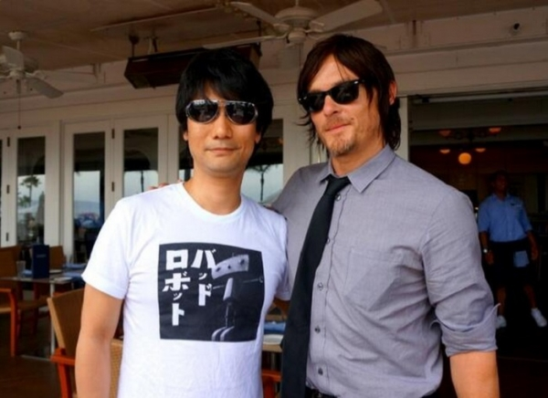 Norman Reedus and Hideo Kojima