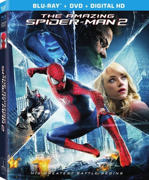 Screenshot - the amazing spider-man 2 blu-ray