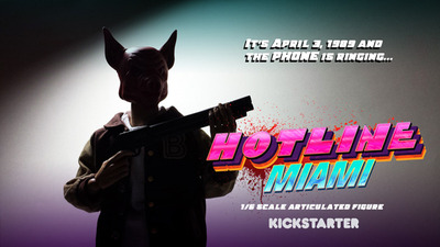 Hotline Miami 2: Wrong Number Screenshot - This Hotline Miami figurine has already been Kickstarted because it's totally bad ass.