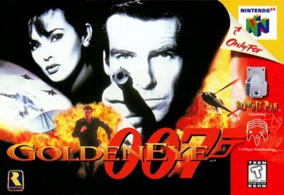 Good morning, folks. Wake up with this video of Pierce Brosnan playing Goldeneye 007