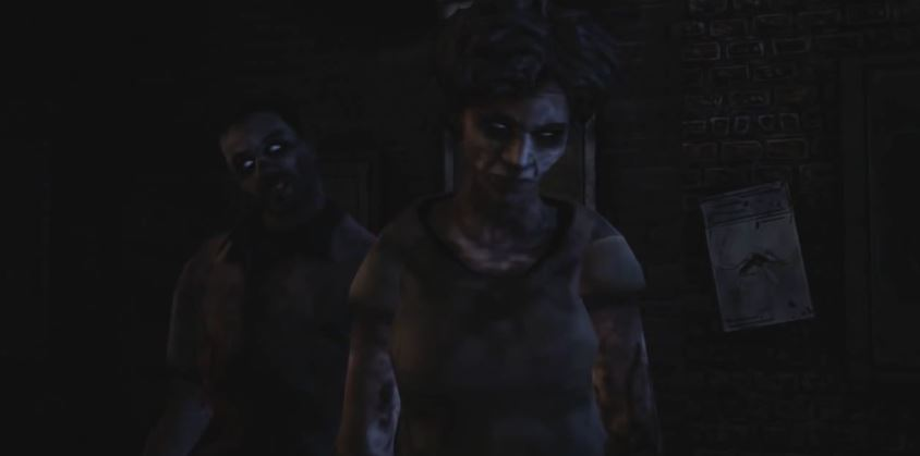 The Walking Dead Clementine zombie parents