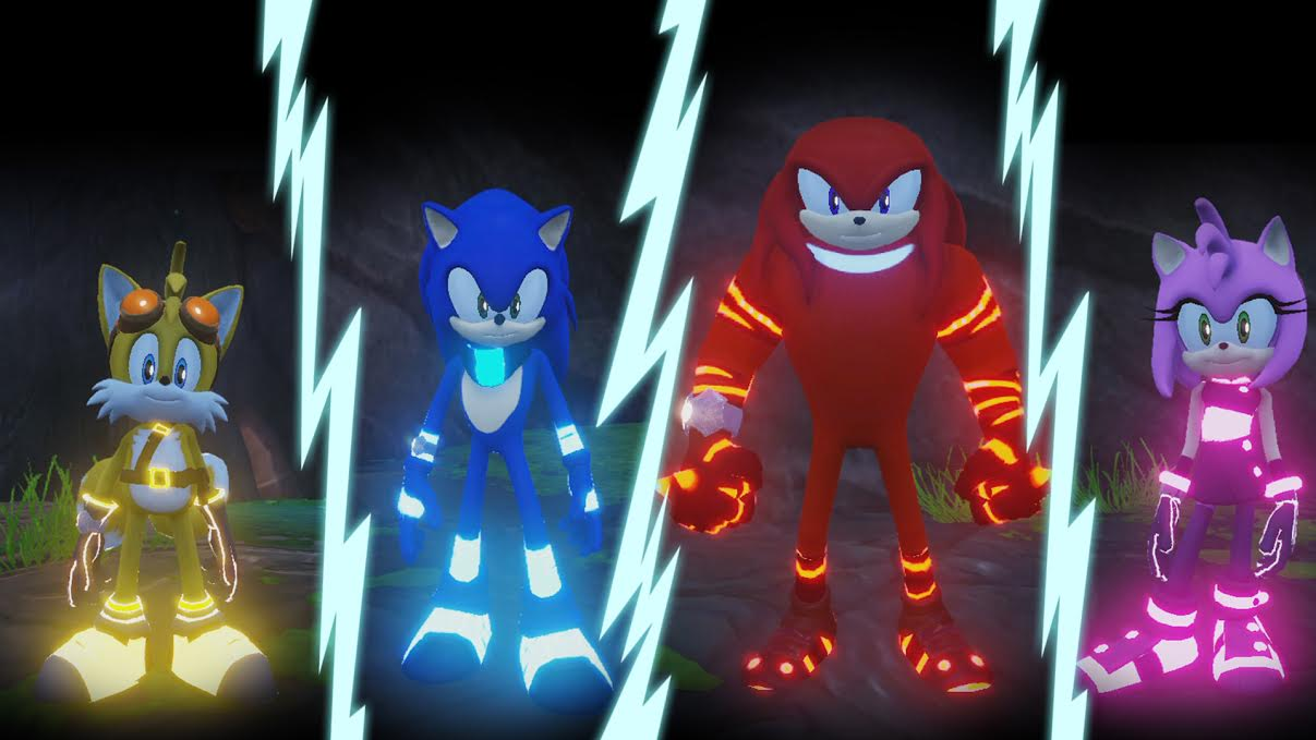 Sonic Boom Character Pack