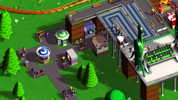 Parkitect, the Kickstarter project for an all new theme park simulator