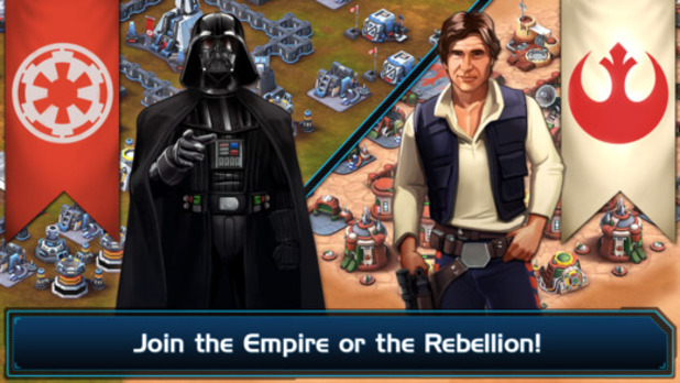 Star Wars: Commander Screenshot - Force Commander