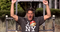 Nintendo of America president Reggie Fils-Aime takes the ice bucket Image