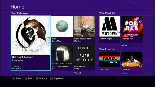 Music Unlimited App Gets A Redesign On Ps3